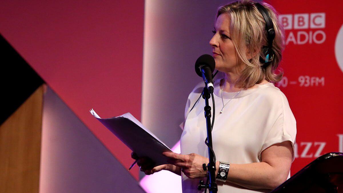 Claire Martin presenting BBC Radio 3's Jazz Lineup